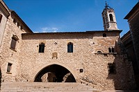 Castillo de la Geltrú  Siglo XIII  Gótico  Actual Archivo Histórico Comarcal  España, Catalunya, provincia de Barcelona, Garraf, Vilanova i la Geltrú