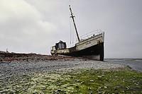 Wreck, Anticosti, Québec, Canada