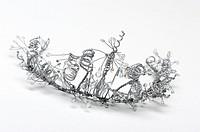 Bride or bridesmaid wedding tiara