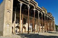 Bolo Hauz Mosque, Bukhara, Buchara, Silk Road, Unesco World Heritage Site, Uzbekistan, Central Asia