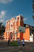 Jocotenango church near Antigua, Guatemala