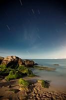Starry Night on a rocky coast
