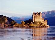 Eilean Donan Castle DORNIE ROSS AND CROMARTY Scottish castle in Loch Alsh Scotland