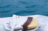 Cassata (Sponge cake with ricotta & fruit filling, Italy)