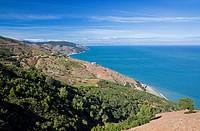 Morocco Mediterranean Coast Tetouan Coastline near Cap Mazari