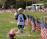 Memorial Day services honor fallen veterans of the American military in Tucson, Arizona, USA
