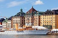 Sweden Stockholm. The Old Town.
