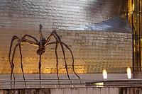 ´Mama´ in Guggenheim museum, Bilbao, Bizkaia, Spain