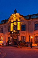 1897 build neo baroque building of Secundogeniture, located at Brühl´s Terrace, Dresden, Saxony, Germany, Europe