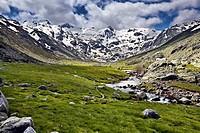 La Azagaya peak, Sierra de Gredos, Avila province, Castilla-Leon, Spain