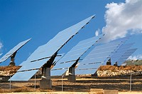 Photovoltaic plant, Andalusia, Andalucia, Spain, Europe