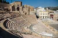 Teatro Romano  CARTAGENA CIUDAD region Murcia ESPAÑA Roman Theater CARTAGENA CITY Murcia region SPAIN