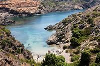 Pedrosa cove  Cap de Creus Natural Park  Spain, Catalonia, Girona province, Alt Empordà, El Port de la Selva