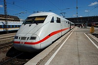 ICE Train at Munich Central Station