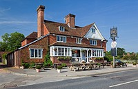 England Kent Benenden The Street with ´The Bull Inn´ Public House