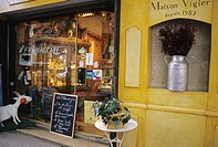 Cheese shop in Carpentras in the region of Provence in France