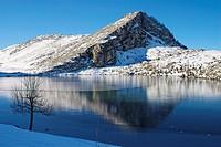 Enol Lake. Covadonga. Picos de Europa National Park. Asturias. Spain