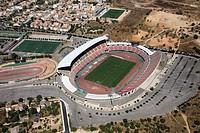 Ono/Son Moix soccer stadium, Palma de Mallorca, Mallorca, Balearic Islands, Spain