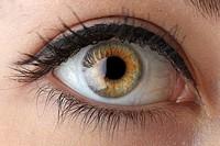 Macro photography of woman´s eye