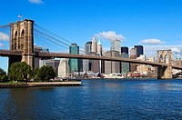 Brooklyn Brige and Manhattan