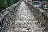 Pont Nou, Camprodon, Catalonia, Spain.