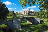 The priory of Pommiers, Loire département, Rhône-Alpes region, France
