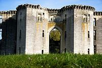 France, Picardie province, Departement of Aisne 02, Ferté Milon   Castle of La Ferté Milon, town where the french author Jean Racine were born