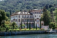 Villa Placida at San Giovanni, Bellagio, on Lake Como, Italy´s most popular holiday lake