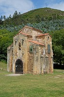 Church of San Miguel de Lillo Asturias