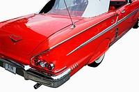 Vintage 1958 Chevy Impala at Cruise Nights, Barrington, Illinois, USA