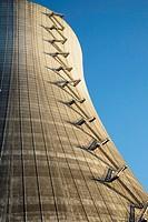 Stair Detail, Nuclear Cooling Tower, Satsop Development Park, Satsop, Washington