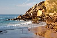 Santa Justa beach  Cantabria  Spain