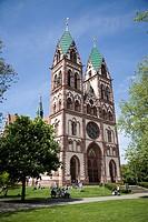 Herz Jesu Church, Freiburg, Germany