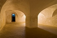 Dungeon in Fort Christiansvaern, Christiansted National Historic Site, St Croix, US Virgin Islands