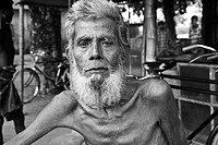Portrait of a person in Bangladesh