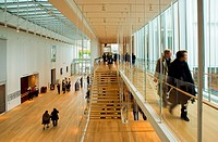 Interior entrance hallway & stairway of the newly opened ´Modern Wing´ at the Art Institute of Chicago