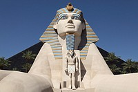 Sphinx at Luxor Hotel, Las Vegas, Nevada, USA