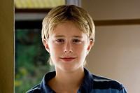 portrait of a 13 year old boy