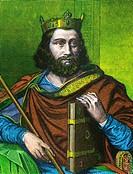 CHILDEBERT I -558  King merovingian of France and son of Clovis