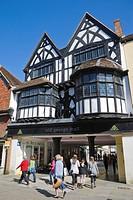 Old George Mall, High Street, Salisbury, Wiltshire, England, UK.
