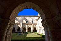 France, 85, Poitevin, Nieul on Autise: Romanesque abbey saint vincent