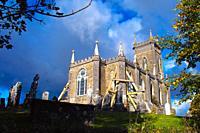 Kilbixy Church and Graveyard, Co  Westmeath, Ireland