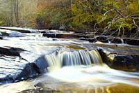 The River Barrow in the Slieve Bloom Mountains, near Clonaslee, Co  Laois, Ireland