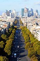 Paris, Neuilly-sur-Seine, the business sector Paris La Défense, Paris, France.