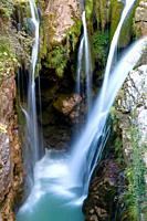 Waterfall of Molino de Aso, Ordesa, Huesca, Spain