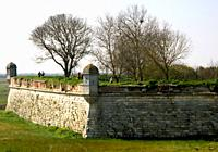 France, Poitou Charentes province, Charente Maritime, Brouage - Vauban´s citadel with forteress, walls and ´Echauguettes´, old military camp and town ...