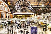 Liverpool Street station, London, England