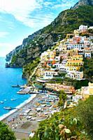 Positano town - Amalfi caost - Italy