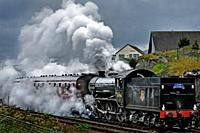 The Harry Potter Steam Train, Mallaig, Highlands, Scotland, United Kingdom, Europe