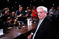 Mario Vargas Llosa, Nobel Literature 2010 Madrid 03/11/2010